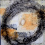 yes 12 x 12 encaustic on board $400